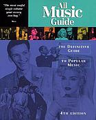 All music guide : the definitive guide to popular music