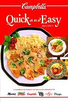 Campbell's Quick and easy recipes