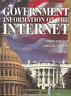 Government information on the Internet