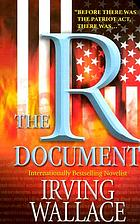 The R document : a novel
