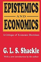 Epistemics & economics: a critique of economic doctrines