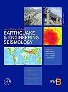 International handbook of earthquake and engineering seismology