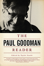 The Paul Goodman reader