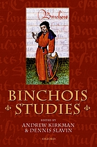 Binchois studies : [the first International Conference on Gilles de Bins, dit Binchois, took place at the CUNY Graduate Center on 31 October and 1 November 1995]