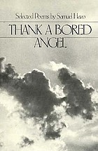 Thank a bored angel : selected poems