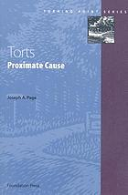 Torts : proximate cause