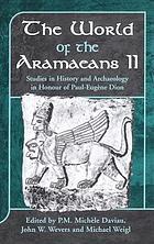 The world of the AramaeansThe world of the Aramaeans
