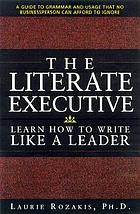 The literate executive