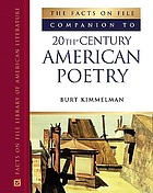 The Facts on File companion to 20th-century American poetry The Facts on File companion to 20th-century poetry