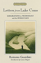 Letters from Lake Como : explorations in technology and the human race