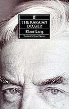 The Karajan dossier