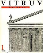 The civil architecture of Vitruvius : comprising those books of the author which relate to the public and private edifices of the ancientsBaukunstBaukunst