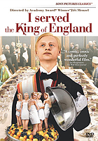 Obsluhoval jsem anglického krále I served the king of England