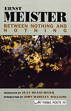 Between nothing and nothing = Zwischen zwei Nichtsen