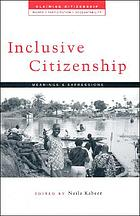 Inclusive citizenship : meanings and expressions