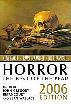 Horror : the best of the year