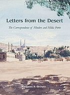 Letters from the desert : the correspondence of Flinders and Hilda Petrie