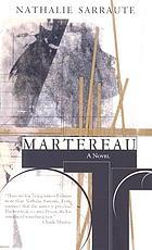 Martereau, roman