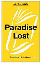 Paradise lost Paradise lost, and other poems