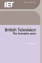 British television : the formative years