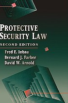 Protective security law