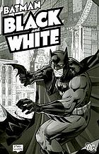 Batman, black and white
