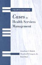 Cases in health services management