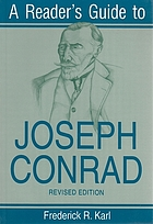 A reader's guide to Joseph Conrad