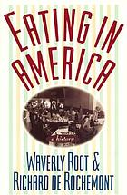 Eating in America : a history