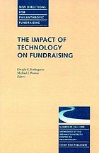 The impact of technology on fundraising