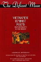 Vietnamese feminist poems from antiquity to the present : a bilingual anthology
