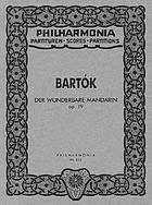Der wunderbare Mandarin, op. 19