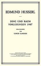 Husserliana : gesammelte Werke