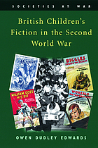British children's fiction in the Second World War