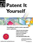 Patent it yourself, 11th edition