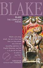 Blake, the complete poemsThe complete poems