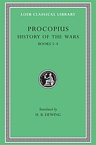 Procopius in six volumes