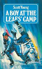 A boy at the Leafs' camp