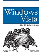 Windows Vista : the definitive guide