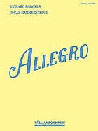 Allegro : a new musical play