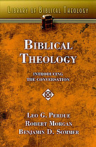 Biblical theology : introducing the conversation