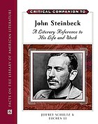 Critical companion to John Steinbeck : a literary reference to his life and work
