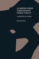 Learning from comparative public policy : a practical guide