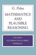Mathematics and plausible reasoning