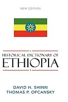 Historical dictionary of Ethiopia and Eritrea