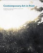 Contemporary art in print : the publications of Charles Booth-Clibborn and his imprint the Paragon Press, 1995-2000