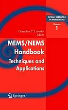 MEMS/NEMS : handbook techniques and applications