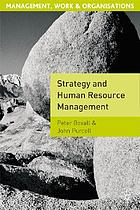 Strategies in human resource management
