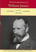 The correspondence of William James
