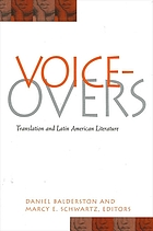 Voice-overs : translation and Latin American literature